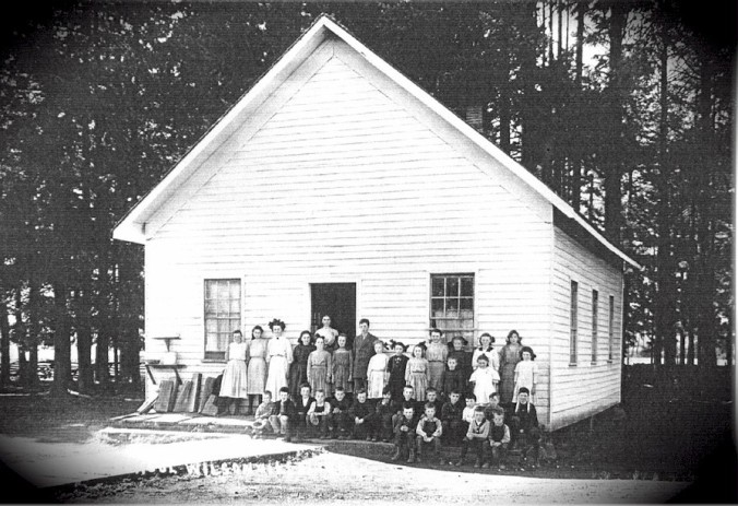 Wilsonville School - 1910 original building