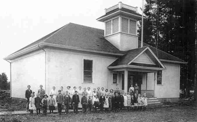 Wilsonville Grade School - original building