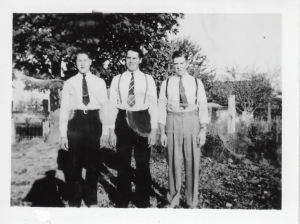 Don, Boyd, and Marion Fergus - the Fergus brothers.