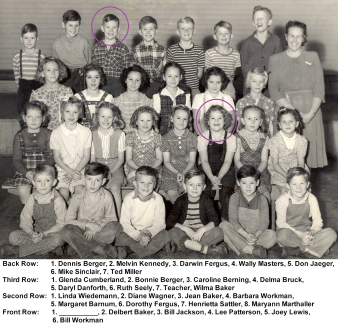 1946 First Second Gradesa - circled