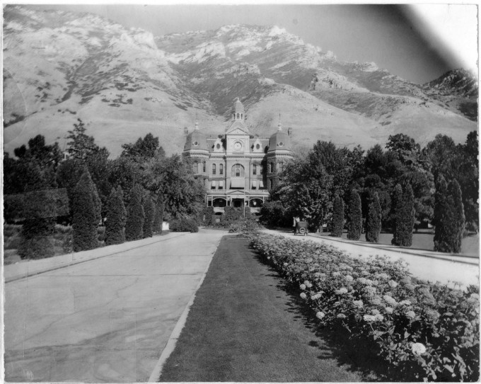 1920 - main building